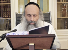 Rabbi Yossef Shubeli - lectures - torah lesson - Chofetz Chaim on Parshat Masaei - Wednesday ´74 - Parashat Masaei, Two Minutes Chpfetz Chaim, Chafetz Chaim, Rabbi Yisrael Meir of Radin, Rabbi Yossef Shubeli, Weekly Parasha, Parshat Shavua