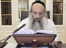 Rabbi Yossef Shubeli - lectures - torah lesson - Chofetz Chaim on Parshat Vayelech - Wednesday ´74 - Parashat Vayelech, Two Minutes Chpfetz Chaim, Chafetz Chaim, Rabbi Yisrael Meir of Radin, Rabbi Yossef Shubeli, Weekly Parasha, Parshat Shavua