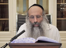 Rabbi Yossef Shubeli - lectures - torah lesson - Chofetz Chaim on Parshat Haazinu - Wednesday ´74 - Parashat Haazinu, Two Minutes Chpfetz Chaim, Chafetz Chaim, Rabbi Yisrael Meir of Radin, Rabbi Yossef Shubeli, Weekly Parasha, Parshat Shavua