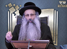 Rabbi Yossef Shubeli - lectures - torah lesson - Halacha Yomit : Tamuz 27 Tuesday, 75 - Halacha Yomit, Jewish Law, Laws, Rabbi Yosef Shubeli