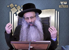 Rabbi Yossef Shubeli - lectures - torah lesson - Halacha Yomit : Tamuz 28 Wednesday, 75 - Halacha Yomit, Jewish Law, Laws, Rabbi Yosef Shubeli