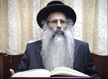 Rabbi Yossef Shubeli - lectures - torah lesson - The Attribution Of Things To Ourselves -