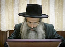 Rabbi Yossef Shubeli - lectures - torah lesson - The Person In His Own Right -
