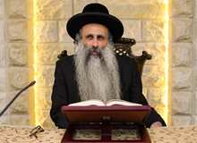 Rabbi Yossef Shubeli - lectures - torah lesson - Most Of The Crash That Human Greatness -