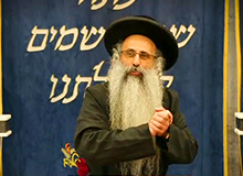 Rabbi Yossef Shubeli - lectures - torah lesson - Found a Dead Men In The Field -