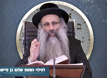 Rabbi Yossef Shubeli - lectures - torah lesson - Snatch A Short Dvar Torah: Av 06 Wednesday, 75 - Torah, Snatch Dvar Torah, Rabbi Yosef Shubeli, Sages of Israel, Bresle